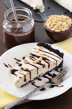 Peanut Butter Frozen Pie