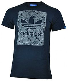 Adidas Credit Card Trefoil Tee hombres algodón camisa original camiseta Azul   camiseta  friki  moda  regalo 9a771c76bf895