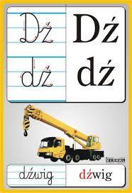 Znalezione obrazy dla zapytania litery przedszkole Polish Alphabet, Learn Polish, Kids Learning, Montessori, Poland, Letters, Education, Children, Geography