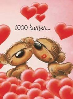 1000 kusjes xxx