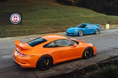 Looking for similar pins? Follow me! http://kohlsson.link/1W5N6ws | kevinohlsson.com Orange & Blue Porsche 911s [1200x800]