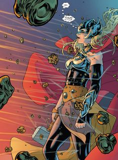 Russell Dauterman is an illustrator and character designer, best known as the artist of the Marvel comic book series, THE MIGHTY THOR. Marvel Comics, Marvel E Dc, Marvel Women, Marvel Girls, Comics Girls, Marvel Heroes, Marvel Avengers, Marvel Universe, Comic Book Characters