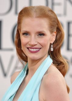 Jessica Chastain #goldenglobes2013
