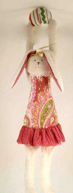 Woof & Poof Easter 2013. Girl bunny door hanger. https://www.facebook.com/riverroadpharmacyandgifts