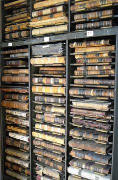 Old deed books
