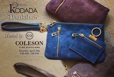 #SEEKODADA TRUNKSHOW at Coleson Fine Clothiers. Support local tastemakers.
