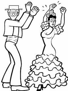 Print Ballet 16 Sports Coloring Pages coloring page & book. Your own Ballet 16 Sports Coloring Pages printable coloring page. With over 4000 coloring pages including Ballet 16 Sports Coloring Pages . Dance Coloring Pages, Sports Coloring Pages, Printable Coloring Pages, Coloring Pages For Kids, Spanish Heritage, Hispanic Heritage, Summer School Activities, Flamenco Dancers, Special Pictures