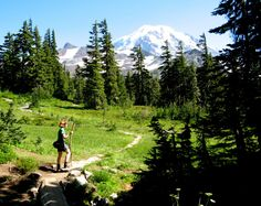 Mount Rainier Wonderland Trail - tackle it in sections (photo by Brian J. Cantwell / The Seattle Times)