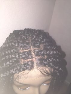 "Custom Made Lace Front Braided Wig ""Janet"" #braidedwig"