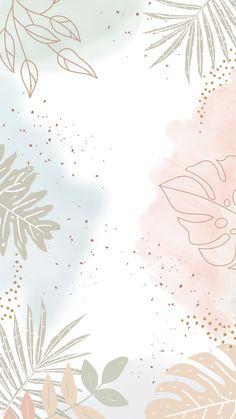 Watercolor Wallpaper Iphone, Phone Wallpaper Images, Aesthetic Iphone Wallpaper, Print Wallpaper, Cute Wallpaper Backgrounds, Cute Pastel Wallpaper, Flower Background Wallpaper, Pastel Background, Cute Patterns Wallpaper