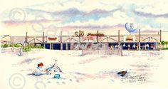 OD Pavilion 2000 Print | Beach Memories NMB