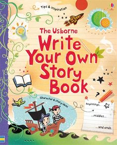 """""""Write your own story book"""" at Heather's Books"""