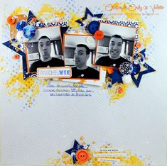 Scrapbooking 2017 Scrapbooking Layouts, Scrapbook Pages, Silly Pictures, Silly Pics, November Challenge, Disneyland, Mixed Media, The Incredibles, Shit Happens