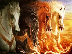 I have to do this 4 HORSES APOCOLYPSE