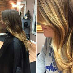 Julie Rodgers light brown hair with sun kissed ombré  By #kimmyc7@optonline.net  At Modern Tekniques in Shrewsbury