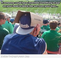 funny caption box over baseball hat if only someone had invented