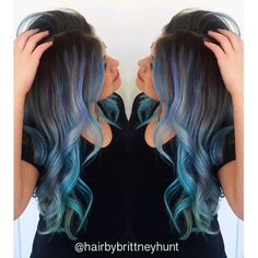 I would like to die my hair just like this when it gets longer