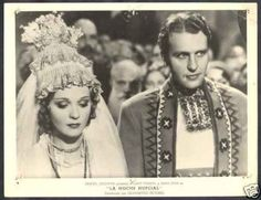 R PHOTO Ralph Bellam & Anna Sten The Wedding Night 1935
