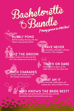 Rose Gold Bachelorette party games Package Bridal Party Drinking Game pack Lingerie Shower Activity Set Funny Hens Night Games Set