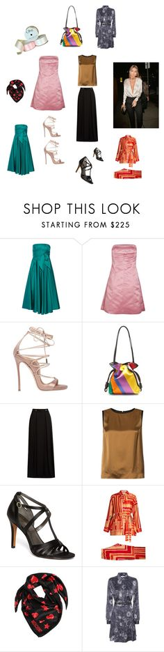 """""""A-Z Satin..**"""" by yagna ❤ liked on Polyvore featuring TIBI, Jil Sander Navy, Dsquared2, Loewe, Lanvin, Maison Margiela, Brooks Brothers, Katie Eary, Moschino and Ganni"""