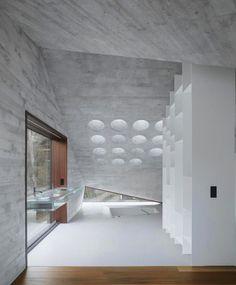 e9ab30dfdf473 #Interiordesign #entries #foyers #concrete #walls #Interiorarchitecture
