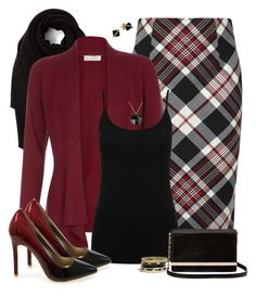 Plaid Perfect by laaudra-rasco on Polyvore featuring polyvore, fashion, style, Monsoon, M&Co, Alexander McQueen, Diane Von Furstenberg, Madyha Farooqui, Moschino, GUESS and Cash Ca