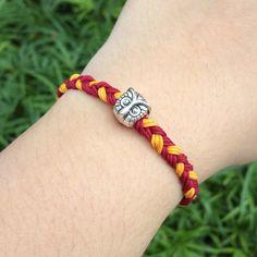 Harry Potter Bracelet Gryffindor Slytherin by Trinketberry a personal favorite!!!