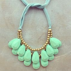 Mint Seraglio Necklace