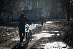 civilian bike usage in Ukraine: bikes and water 101