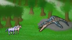 It's a magical Leopleuradon it's going to guide us to Candy Mountain.. Charlie the nonbelieverrrrrr