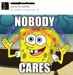 How I feel about some people sharing their opinions on fb.