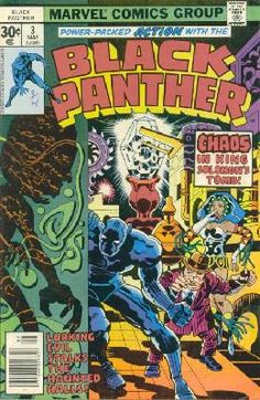 Black Panther #3 Jack Kirby VF+ ---> shipping is $0.01 !!!