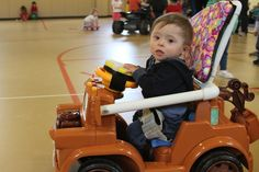Go Baby Go has retrofitted an estimated 100 toy cars, a small dent for the more than half a million American children under the age of five who have mobility problems.