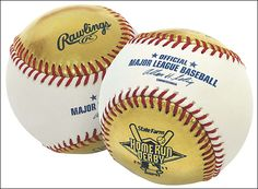 I wouldn't mind catching a gold (literally) baseball at the #MLB All-Star game's #homerunderby.