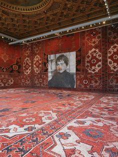 8) Rudolf Stingel, Untitled (Franz West), 2011 - Installation view at Palazzo Grassi Pinault Collection - Photo: Stefan Altenburger - Courtesy of the artist