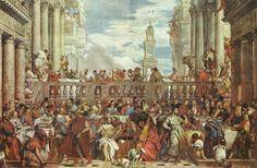 Paolo Verones, Las bodas de Cana, 1562-63
