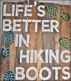 Putting on my hiking boots tells my leg muscles that it's time to go outside and play! That's just one reason why life's better in hiking boots! Camping And Hiking, Hiking Trails, Backpacking, Hiking Food, Camping Tips, Get Outdoors, The Great Outdoors, Outdoor Life, Outdoor Fun