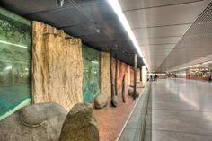 Wien Westbahnhof Adolf Frohner 55 Schritte Europa Evolution