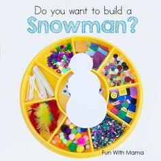Do you want to build a snowman ? This printable do you want to build a snowman craft activity will be great for Frozen lovers and crafty kids.