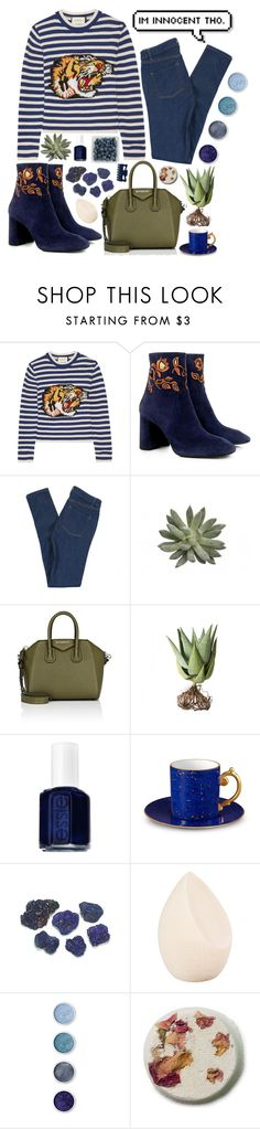 """""""It gets better"""" by melaniecleary ❤ liked on Polyvore featuring Gucci, Eugenia Kim, Marc by Marc Jacobs, Givenchy, Alöe, Essie, L'Objet, Christian Dior and Terre Mère"""