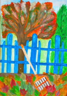 A magányos seprű Lombok, Minion, Watercolor Paintings, Blog, Autumn, Water Colors, Fall Season, Minions, Blogging