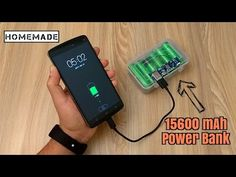How to Make a 15600 mAh Power Bank from Scrap Laptop Battery - Homemade - YouTube