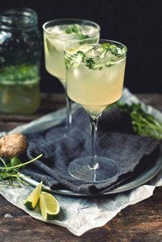 Ginger-Cilantro Margarita Recipe