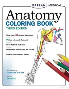 Printable Anatomy Coloring Book