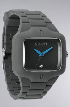 The Rubber Player Watch in Drab by Nixon