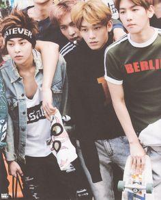 Xiumin, Lay, Chen & Baekhyun - 'Die Jungs'
