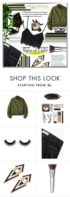 """""""yoins 2016"""" by ninakistyles ❤ liked on Polyvore featuring Loeffler Randall, Marc by Marc Jacobs, MANGO, Trish McEvoy, love, GREEN, yoins and yoinscollection"""