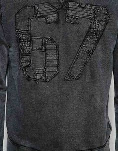 Denim & Supply by Ralph Lauren Sweatshirt with 67 Applique