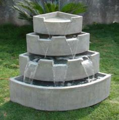Simple Natural Fountain