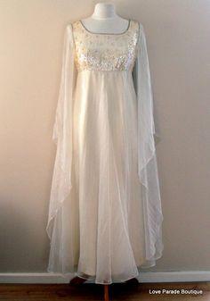 Vintage 60s Wedding Dress/Boho Evening by LoveParadeBoutique, £100.00